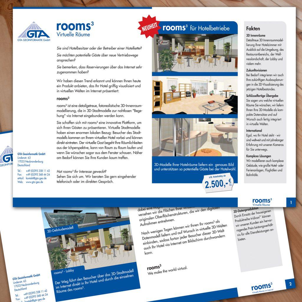 Flyer rooms³