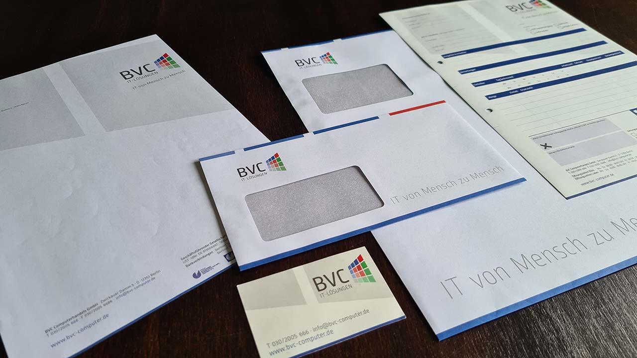 Geschäftsausstattung und Corporate Design