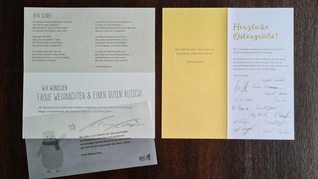 Einladungs- und Glückwunschkarten