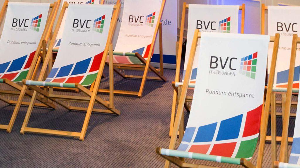 Liegestühle für BVC IT-Lösungen