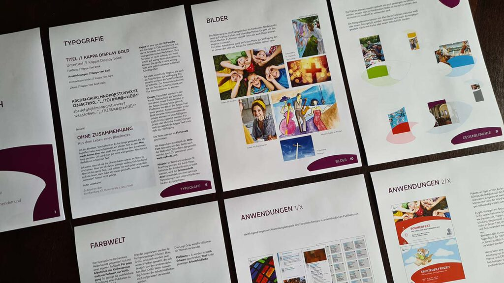 Corporate Design Kirchenkreis Niederlausitz