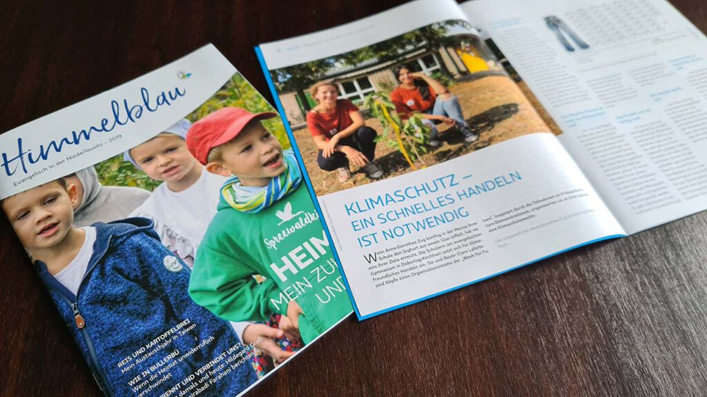 Himmelblau-Zeitschrift