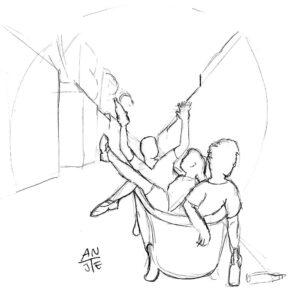 "Illustration ""Kreuzberg Party"""