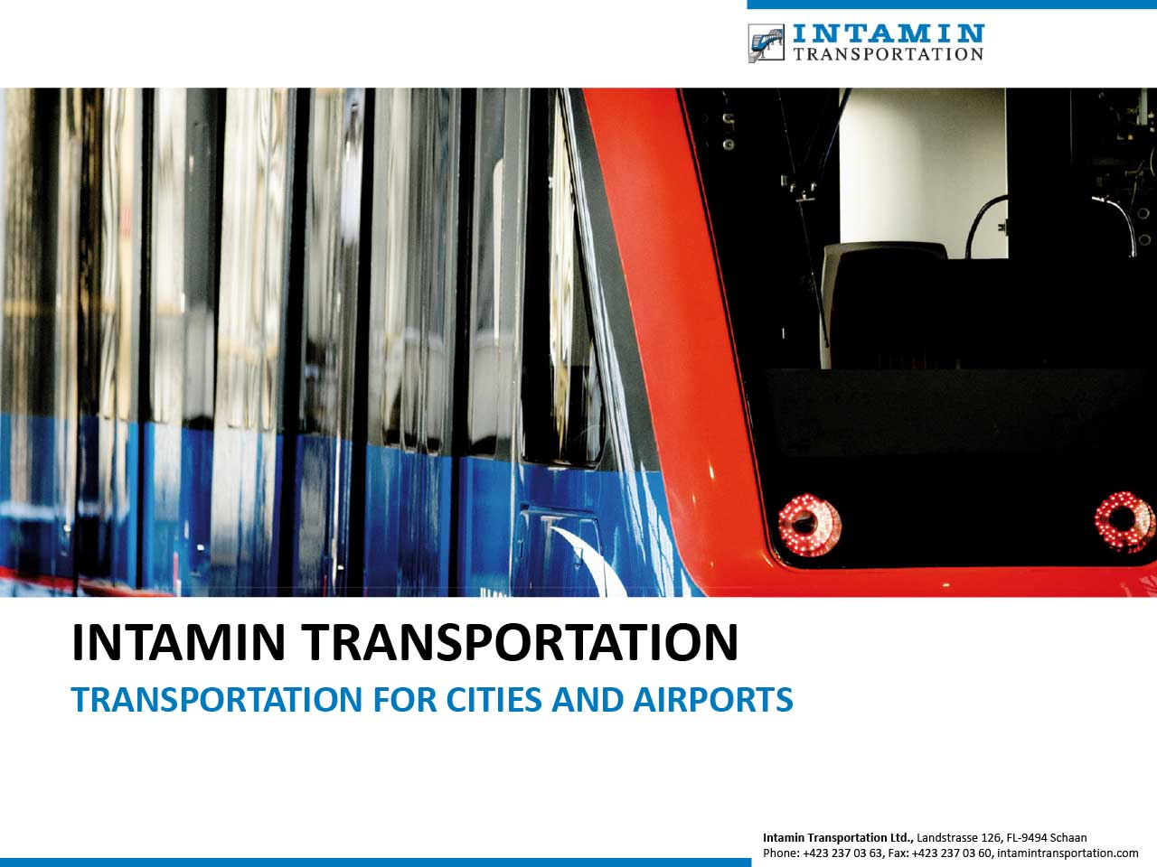 Präsentation Intamin Transportation