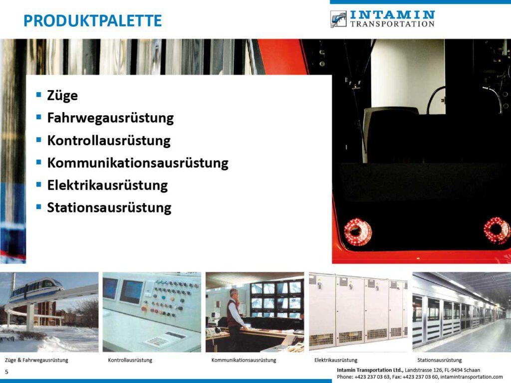 Präsentation Intamin Transportation