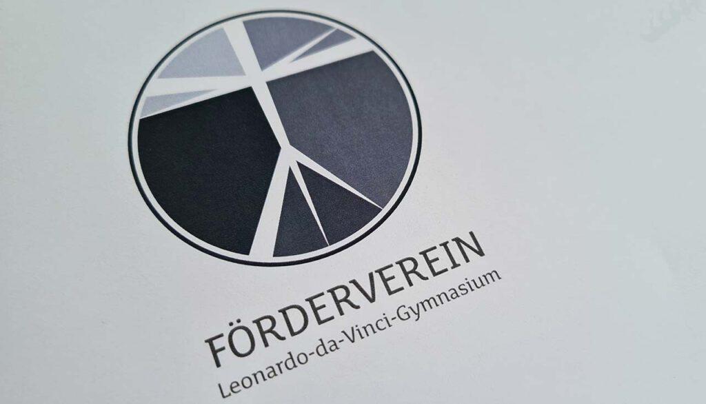 Logoentwicklung Förderverein Leonardo-da-Vinci-Gymnnasium