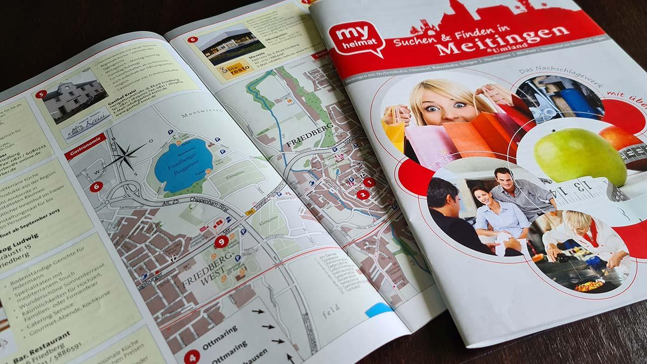 Kartografie für Branchenwegweiser