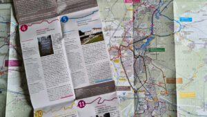 Radwanderkarte Stadt Oranienburg