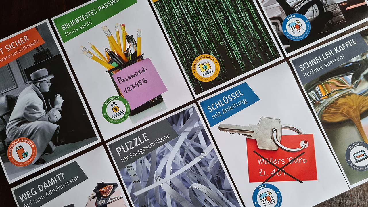 Plakatkampagne Datenschutz