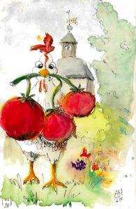 Illustration für Ketchup Dorfaue
