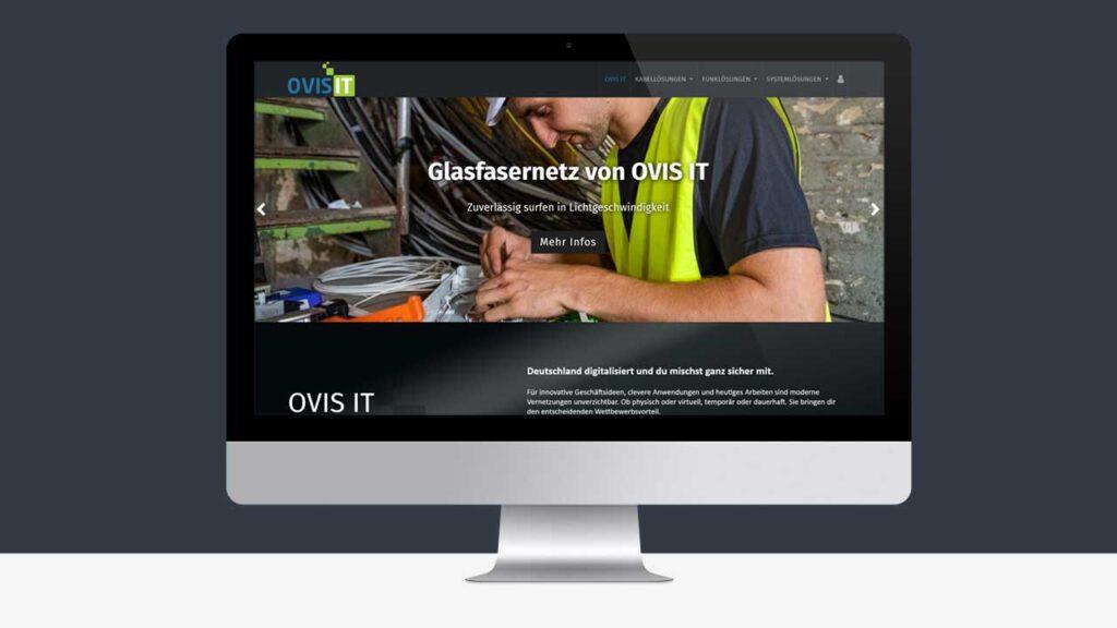 Webseite OVIS IT
